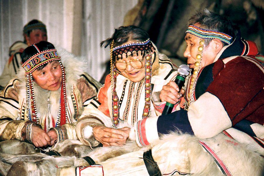 Энецкий язык Носители