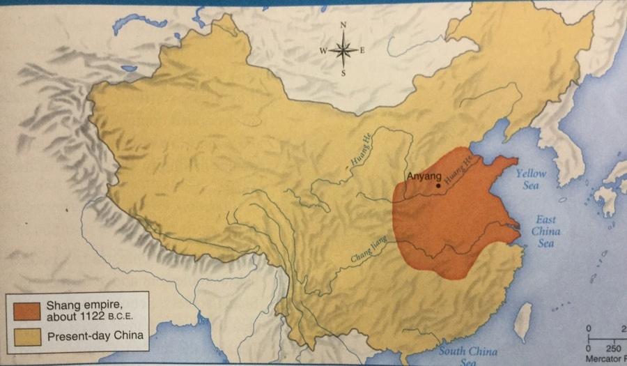 Китай 2100 1600 г. до н. э.