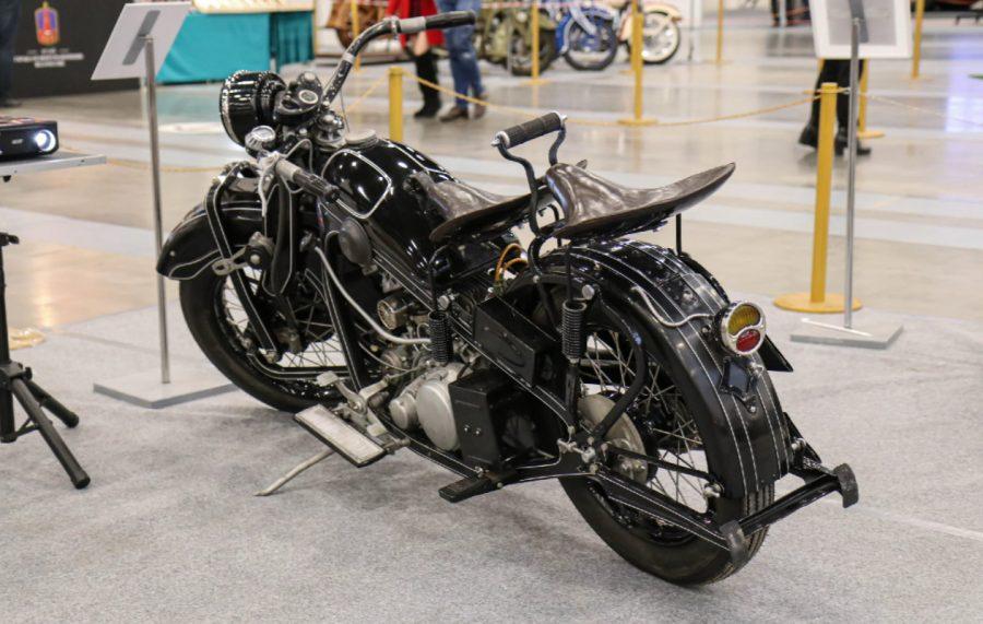 Первый советский тяжёлый мотоцикл