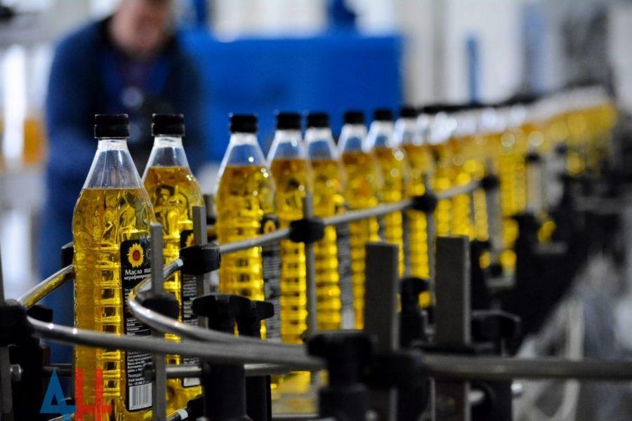 Промышленные растительные масла
