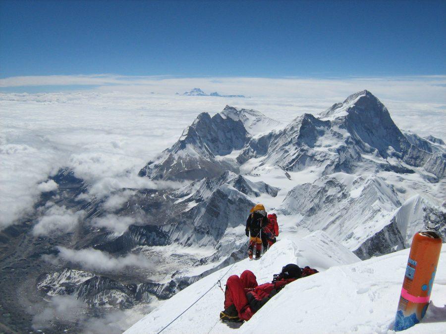 Вершина Макалу с Эвереста
