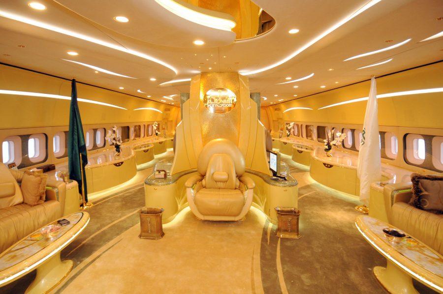 airbus a380 custom Саудовского принца Аль Валида бен Талала
