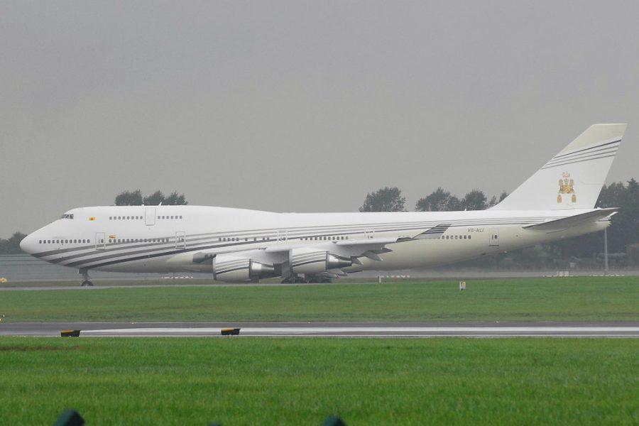 boeing 747 430 Султана Брунея.