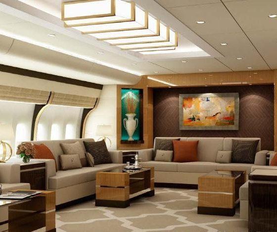 boeing 747 8 vip Джозеф Лау