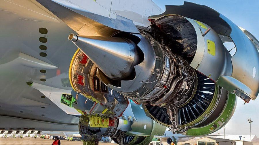 Двигатель general electric genx 2В67
