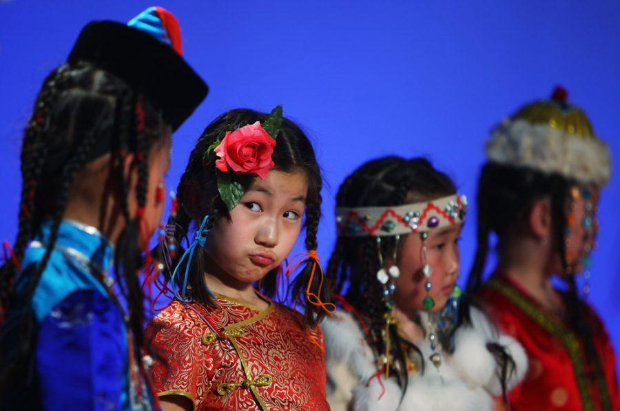 Монголы в китае