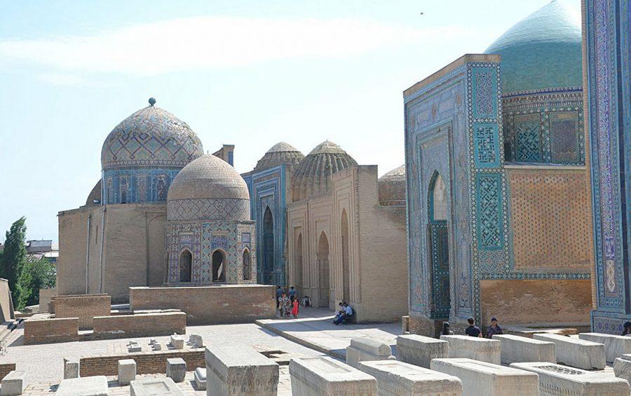 Путешественников в Узбекистане